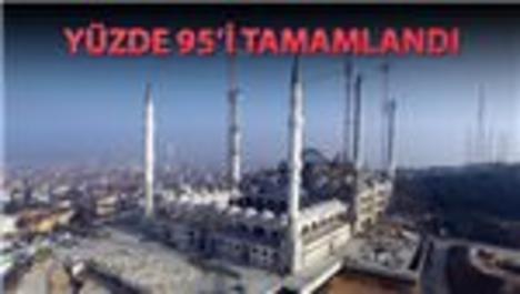 Çamlıca Camii'ne 220 metrelik Fetih Suresi yazılacak