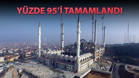 Çamlıca Camii son fotoğraflar