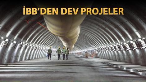 İstanbul'a 3 yeni tünel geliyor