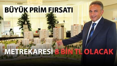 Vadişehir'in 250 konutluk yeni etabı satışta
