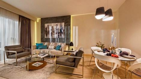 Nurol Park ev almak isteyenleri örnek dairede ağırlıyor