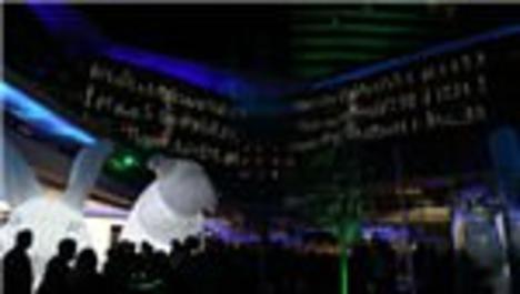 Zorlu Center'daki Işık Light Festival başladı