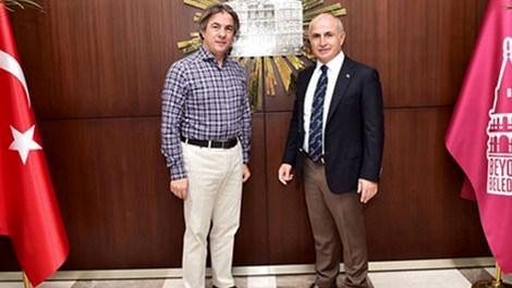 Ahmet Misbah Demircan ve Büyükçekmece Belediye Başkanı Dr. Hasan Akgün
