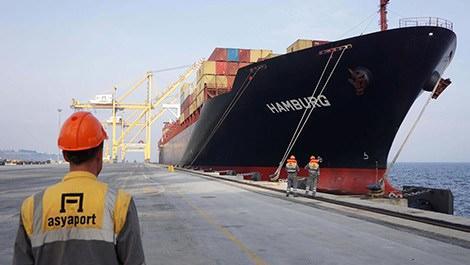 Asyaport Limanı 'dev gemileri' ağırlıyor