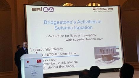 Brisa'nın sismik izolatörleri Türkiye pazarında!