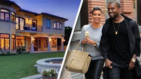 Kanye West ve Kim Kardashian'ın evi