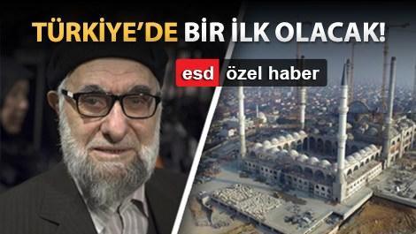 Çamlıca Camii'nin hatları Hasan Çelebi'ye emanet