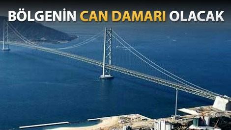 Körfez Geçişi Asma Köprüsü nisanda açılıyor