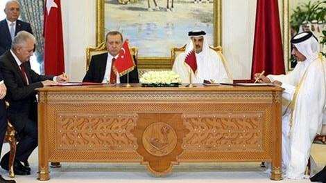 Türkiye ile Katar imza töreni