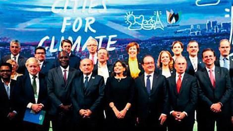 Birleşmiş Kentler ve Yerel Yönetimler (UCLG) Yerel Liderler İklim Zirvesi'ne katılan kadir topbaş