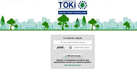 toki, toki.gov.tr, toki taksit online yatırma