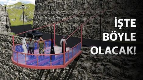 Türkiye'nin 220 metrelik en yüksek cam terası açılıyor