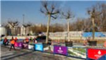 Taksim Meydanı'na 58 ağaç dikilecek