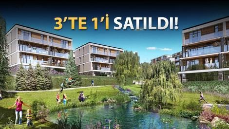 Eston Şehir Mahallem projesinin yeşil alanları