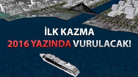 Kanal İstanbul projesinin tamamlanmış hali