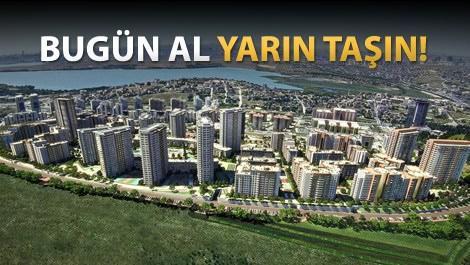 Tema İstanbul yemyeşil alanları ve bloklar