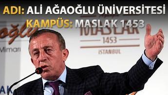 Ali Ağaoğlu kendi üniversitesini kuruyor