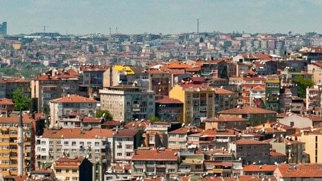 İstanbul Bahçeşehir bölgesindeki evler