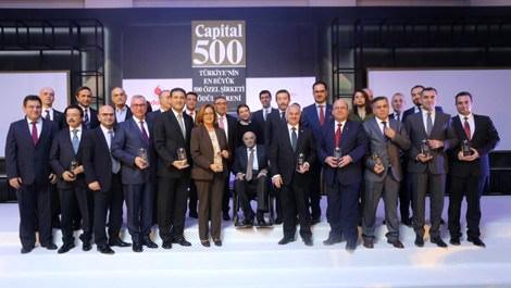 Capital500 Araştırması ödülleri