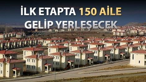 Erzincan Ahıskalı Türkler için yaptırılan evler