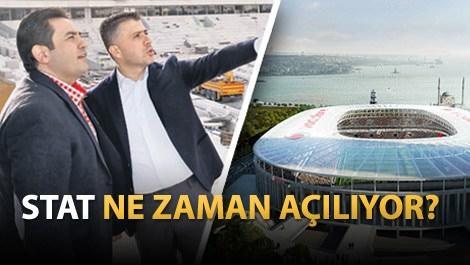 Vodafone Arena stadındaki çalışmaları anlatan Umut Güner