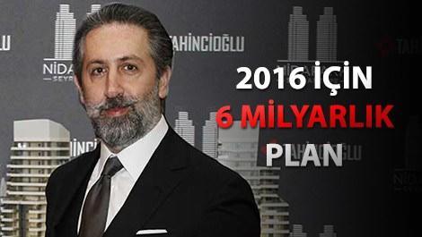 Tahincioğlu Yönetim Kurulu Başkanı Özcan Tahincioğlu,