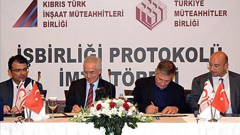 Türk ve Kıbrıslı müteahhitler işbirliği yapıyor!