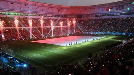 Cumhurbaşkanı Erdoğan, Timsah Arena'yı açtı