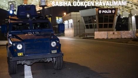Sabiha Gökçen Havalimanı'nda patlama! 1 ölü!