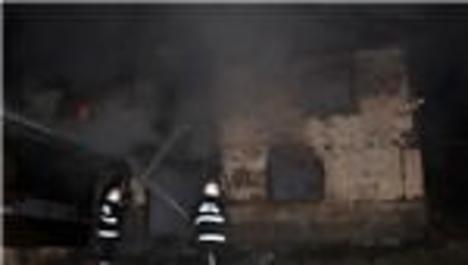 Abant Tabiat Parkı'nda yangın
