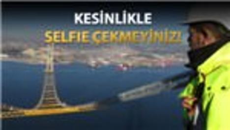 Körfez Geçiş Köprüsü'nde selfie ilanları