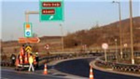 TEM Bolu Dağı geçişi İstanbul yönü ulaşıma kapandı