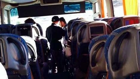 Yolcu otobüslerine 'kemer' denetimi