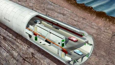 3 Katlı Büyük İstanbul Tüneli,