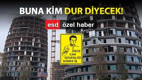 Selenium Ataköy'de iş güvenliği zaafiyeti
