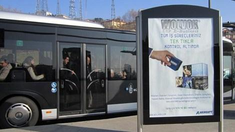 metrobüs reklam
