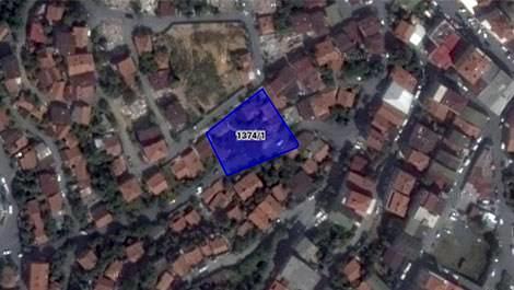 İBB'nin Sarıyerdeki satışa çıkardığı parsel alanı