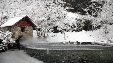Ayder Yaylası'nda kar turizmi arttı!