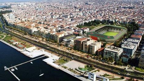 İzmir'de yapımı süren statlar
