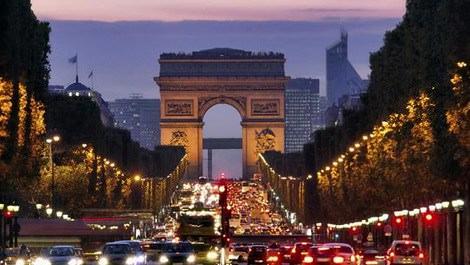Paris'in en ünlü caddesi