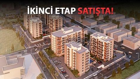 B Life Ataşehir projelerinin havadan görünüşü
