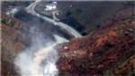Giresun'daki heyelanda 1 ev göçük altında kaldı