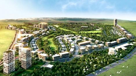 Ankara Golfkent projesinin yeşil alanları