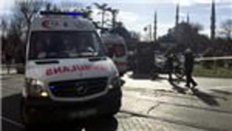 Sultanahmet'te patlama: 10 ölü