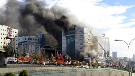 İstanbul Maltepe'de otel yangını!
