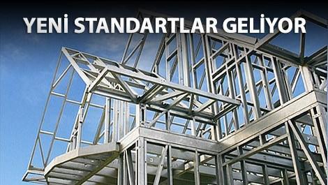 Çelik yapılar için yeni düzenleme