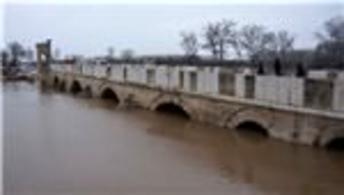 Tunca ve Meriç nehirlerinde su seviyesi yükseldi