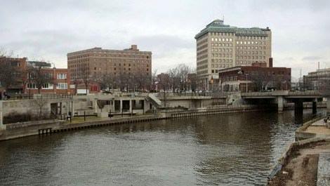 Flint kenti genel görüntüsü