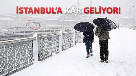 istanbuldan kar manzarası