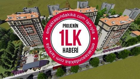 Yeni İstanbul Evleri havadan görüntüsü